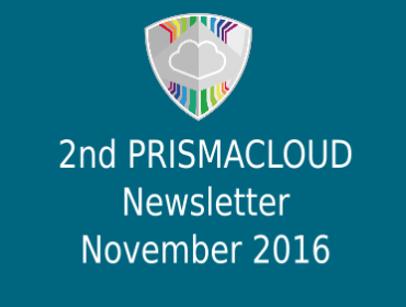 2nd PRISMACLOUD Newsletter - November 2016
