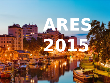 ARES Conference 2015 | 24-28 August 2015
