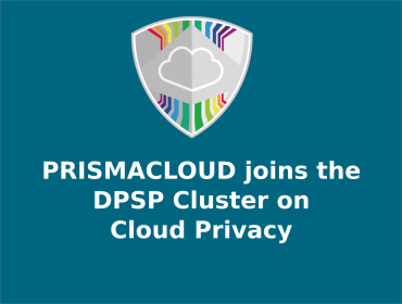 PRISMACLOUD joins the DPSP Cluster on Cloud Privacy