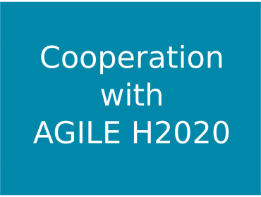 Cooperation with AGILE H2020 Project