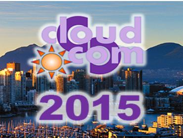 IEEE CloudCom 2015 | 30 November - 3 December 2015
