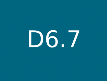 D6.7 Document of specifications for hardware implementations
