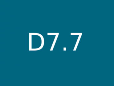D7.7 Software architecture and interface specification
