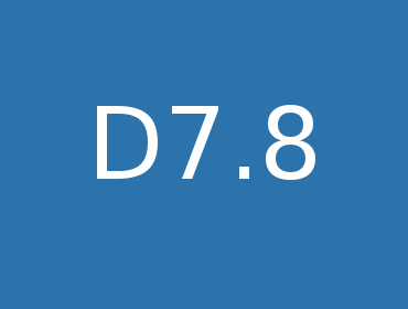 D7.8 First release of software modules for use case integration and validation