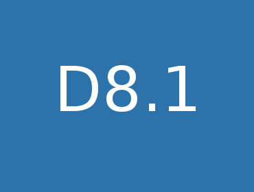 D8.1 Specification of test-bed configurations for validation phase