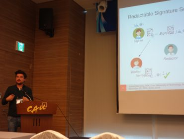 PRISMACLOUD at ICISC 2015 in Seoul