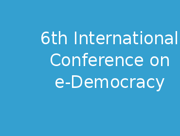 eDemocracy | 10-11 December 2015