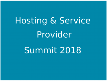 Hosting and Service Providers Summit 2018