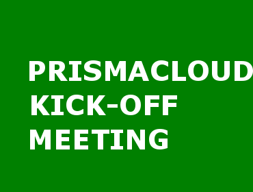 PRISMACLOUD Kick-off Meeting