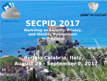 SECPID 2017 at ARES Conference 2017